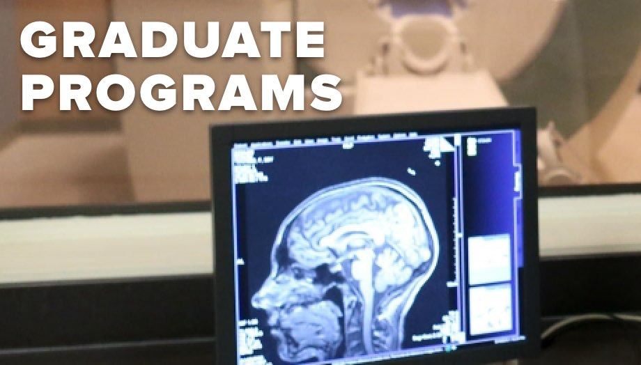 Learn about our graduate programs