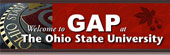 Welcome Banner for The GAP at The Ohio State University