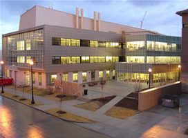 View of the OSU Psychology Building